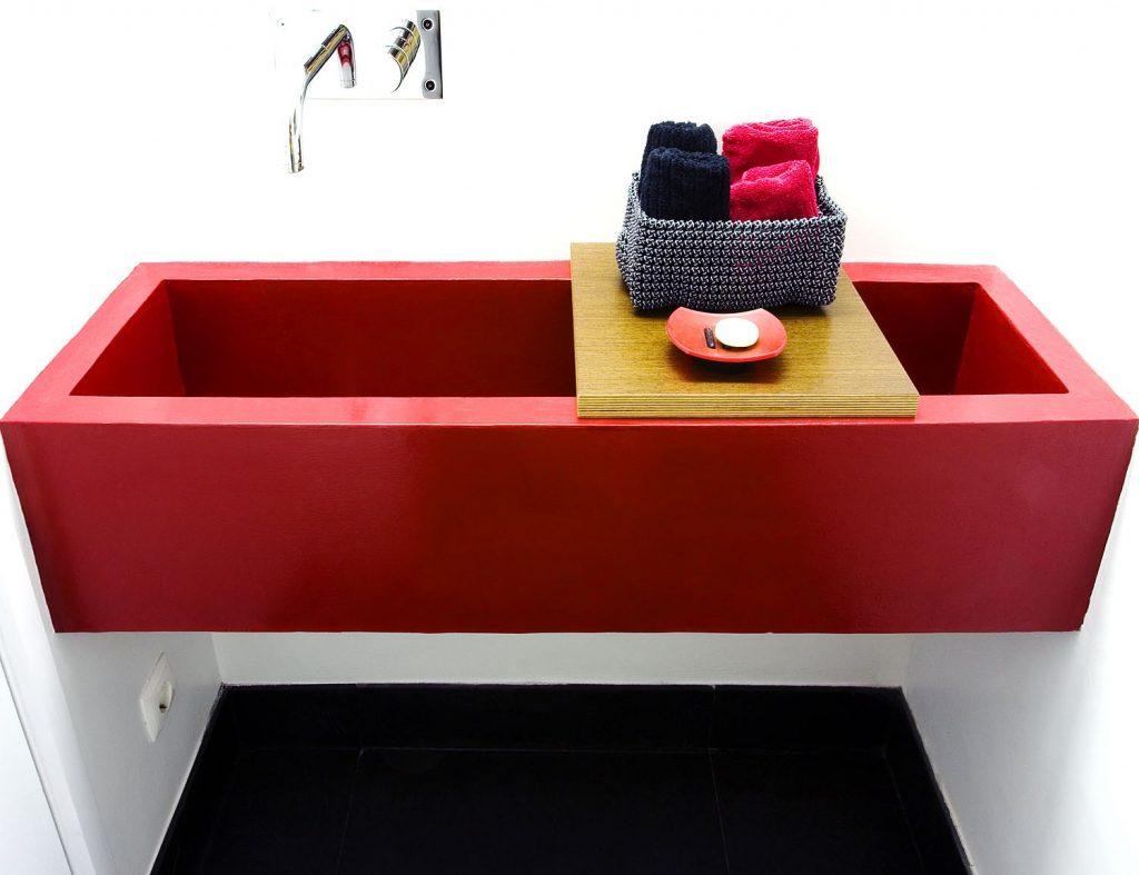 Projeto design de interiores, casa de banho (Portugal). CódigoDesign