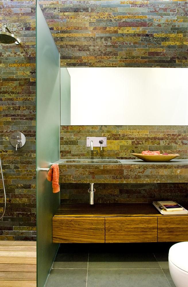 Projeto design de interiores, casa de banho, Porto (Portugal). CódigoDesign
