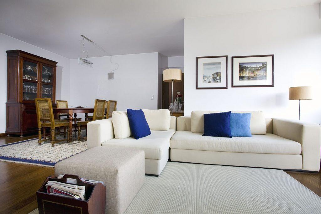 Projeto design de interiores, sala de estar, Porto (Portugal). CódigoDesign