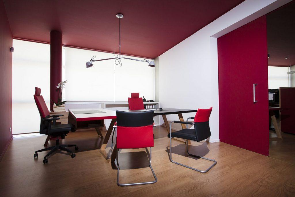 Projeto design de interiores, escritório. Porto (Portugal). CódigoDesign