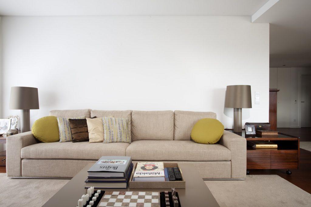 Projeto design de interiores, sala de estar, apartamento em Aveiro. Porto (Portugal). Códigodesign