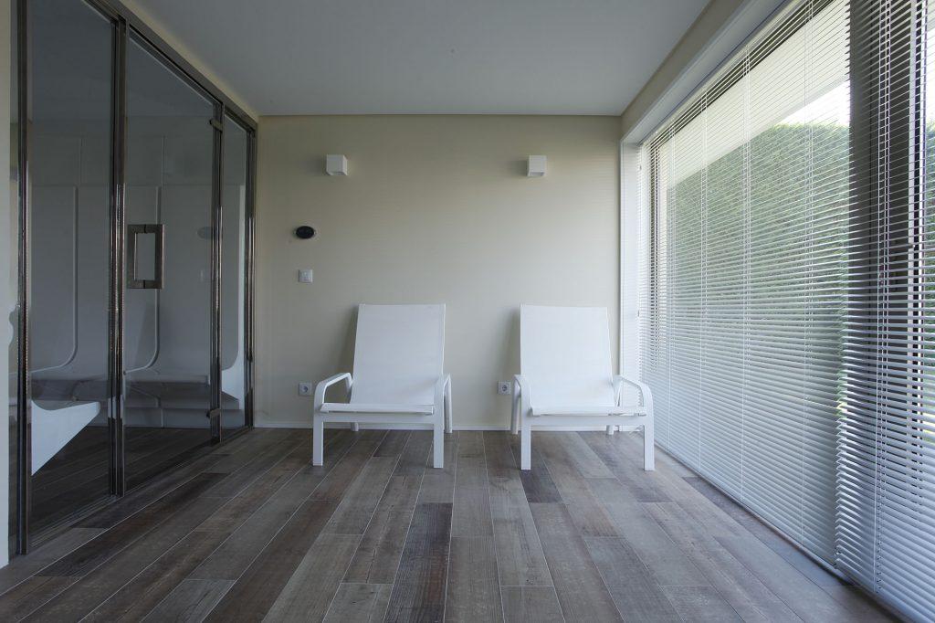 Projeto de arquitetura e design de interiores, zona lazer. CódigoDesign