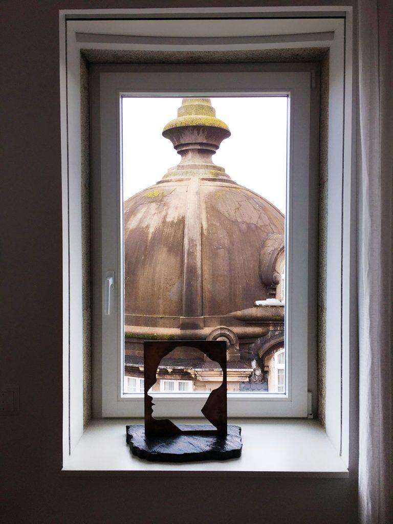 Design de Interiores, vista da sala de estar, Aliados, Porto
